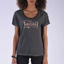 T shirt kaporal manches courtes femme THELA dark grey