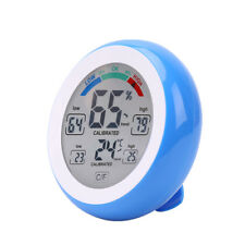 Multifunctional Digital Thermometer Hygrometer Temperature Humidity Meter Touch