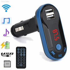 Bluetooth MP3 FM Wireless Transmitter Dual USB LCD Car Charger Kit Handsfree