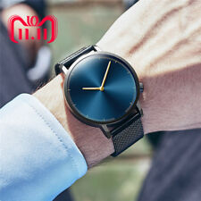 Mens Business Male Watch 2018 Fashion Classic Gold Quartz Stainless Steel Wrist