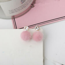 2018 New Temperament Short Paragraph Earrings Personalized Wild Simple Hair