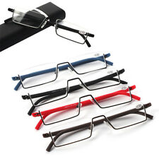 Portable Flexible Vision Care  TR90 Half Frame  reading glasses Unisex
