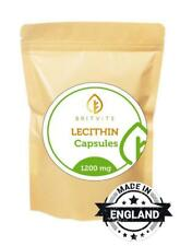 LECITHIN 1200mg Health Supplement 30-60-90-120-180-250-500-1000 Softgel Capsules