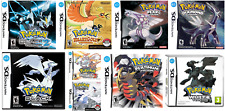 Nintendo DS replacement case with Covers Pokemon Gold Silver Black White Look