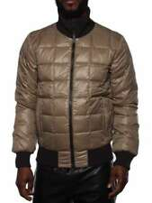 DUVETICA GRECO BOMBER U.441.00 TAUPE GREY winter down jacket man