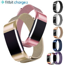 Replacement For Fitbit Charge 2 Stainless Steel Watch Band Metal Strap Bracelet