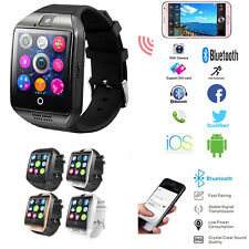 Q18 Smart Wrist Watch Curved Camera Bluetooth Sweatproof For Android IOS