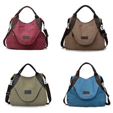 Women's Canvas Handbag Shoulder Bags Large Tote Purse Travel Messenger Bag new