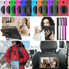 "For Samsung Galaxy Tab A S4 S5e 10.5"" Tablet Rotating Heavy Duty Case Cover"