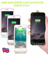 External 10000mAh Battery Charger Power Case Pack FoR iPhone 6/6S 7 8 & Plus & X