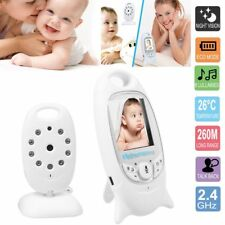 """2"""" Baby Monitor 2.4GHz Color LCD Audio Talk Night Vision Wireless Digital Video"""