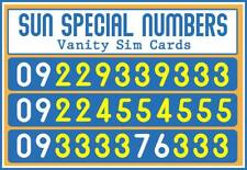 Sun Cellular Special Numbers Vanity Sim Cards (High End)