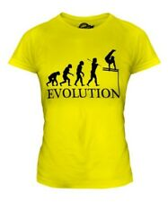 Barras Paralelas Evolution Of Man Mujer Camiseta Top Regalo Atletismo