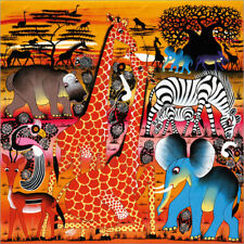 Póster, lienzo o cuadro en metacrilato Africa at sunset - Mrope
