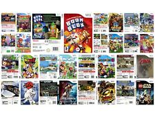 Nintendo Wii replacement game case and Covers Mario -  all Wii Cover Available