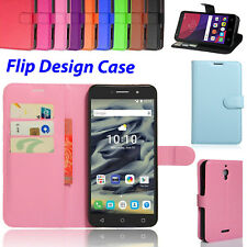 "Slim Wallet Stand For Alcatel Pixi 4 4"" 3G 4 5"" Inch Mobile Leather Case Cover"