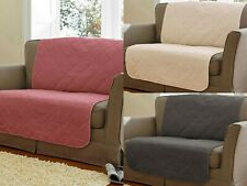Luxury Quilted Sofa Slip Covers Couch Pet Furniture Protector Throw 1/2/3 Seater