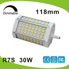 Dimmable 30w LED R7S light 118mm R7S lamp No fan J118 R7S RA>80 replace 300W