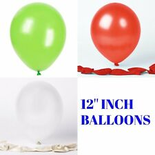"25/50/100 pcs 12"" Metallic Filled Air/Helium Balloon Birthday Party Weding Decor"