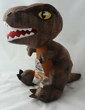 """OFFICIAL LICENSED JURASSIC WORLD PARK DINOSAURS SOFT TOY PLUSH 12"""" T REX"""