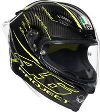 Casco helmet casque racing Agv Pista Gp R Valentino Rossi Project 46 3.0 Carbono