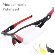 Cycling Sunglasses Polarized Photochromic Glasse Bicycle Mens