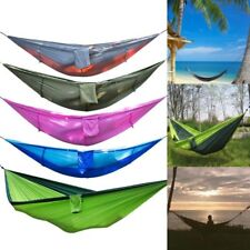 Hammock Mosquito Nets Outdoor Camping Hanging Sleeping Beds Swing Strength Home