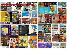 Universal Game Case Video Game Case and Cover Sega Megadrive, Snes, N64, Nes,ect