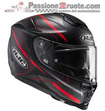 Helmet casque integral helm moto Hjc Rpha 70 Dipol Mc1sf black red