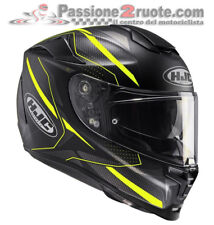 Helmet casque integral helm motorrad Hjc Rpha 70 Dipol Mc4hsf black yellow