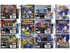 Nintendo DS replacement case with Covers Sonic Rush - Colours - Cronicles - Race