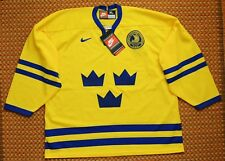 Sweden, Sverige, Vintage Home Hockey Jersey by Nike, New