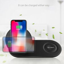 QI Standard Fast Wireless Duo Charging Dock Pad Charger For Samsung S9 iPhone X