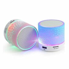 Bluetooth Speaker Mini Wireless Loudspeaker Crack USB Stereo Audio Music Player