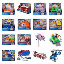 Paw Patrol Vehicles & Figures - Rocky, Zuma, Chase, Marshall, Skye & More!