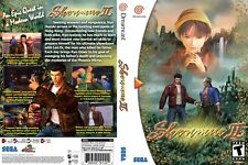 Sega Dreamcast replacement game case and Cover Shenmue II