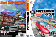 Sega Dreamcast replacement game case and Cover Daytona USA