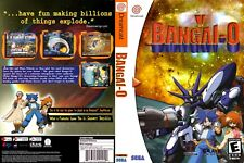 Sega Dreamcast replacement game case and Cover Bangai-O