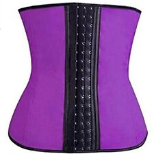 Waist Trainer Body Shaper Rubber Cincher Latex Burning Slimming For Women Sexy