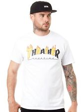 Thrasher White Flame Mag T-Shirt