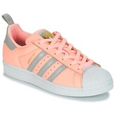 Sneakers   Scarpe donna adidas  SUPERSTAR W  Rosa Rosa Cuoio 7742899