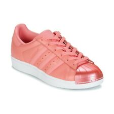 Sneakers   Scarpe donna adidas  SUPERSTAR  Rosa Rosa Cuoio 5629281
