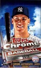 2017 Topps Chrome Baseball - PICK YOUR CARD - COMPLETE your SET - #1-200 RC