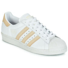 Sneakers   Scarpe donna adidas  SUPERSTAR 80s  Bianco Bianco Cuoio 12117659