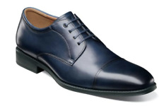 Florsheim Mens Shoes Amelio Cap Toe Oxford Navy 14243-410