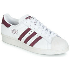 Sneakers   Scarpe donna adidas  SUPERSTAR 80s  Bianco Bianco Cuoio 12117660