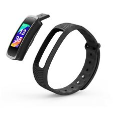 Smart Bracelet IPS Screen Heart Rate Monitor Water Resistant For IOS Android