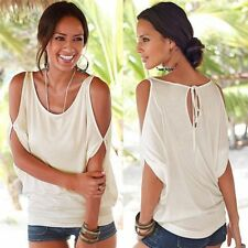 Women T-shirts Tops Rock Cotton Short Sleeve Loose Plus Size  Sexy Fashion Oneck