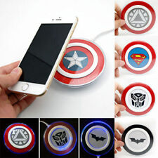 New Qi Wireless Charger Charging Pad For Samsung Galaxy Apple iPhone X S7 S8 S9