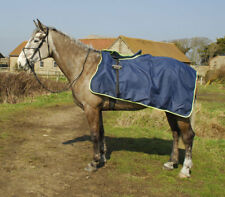 Rhinegold 3/4 Length Cutaway Waterproof Ride-On Horse Pony Exercise Rug